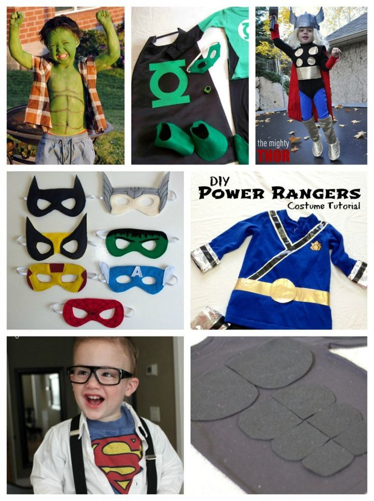 Let's face it, if you take a look around during Halloween, you'll notice the crowd is heavy on the superhero costumes. I'm guessing they're right up there in abundance with the Disney princesses and whatever cartoon movie was popular that summer. The superhero costume, whether Avenger, Justice League or other random do-gooder, is classic and …