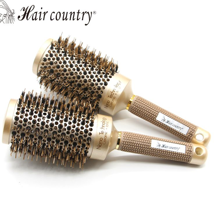 Salon Styling Barrel  Plastic Combs Round Rolling Hair Brush Set Barrel Curling Brush Comb Hair Styling Tools  Hair Comb