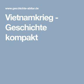 Vietnamkrieg - Geschichte kompakt