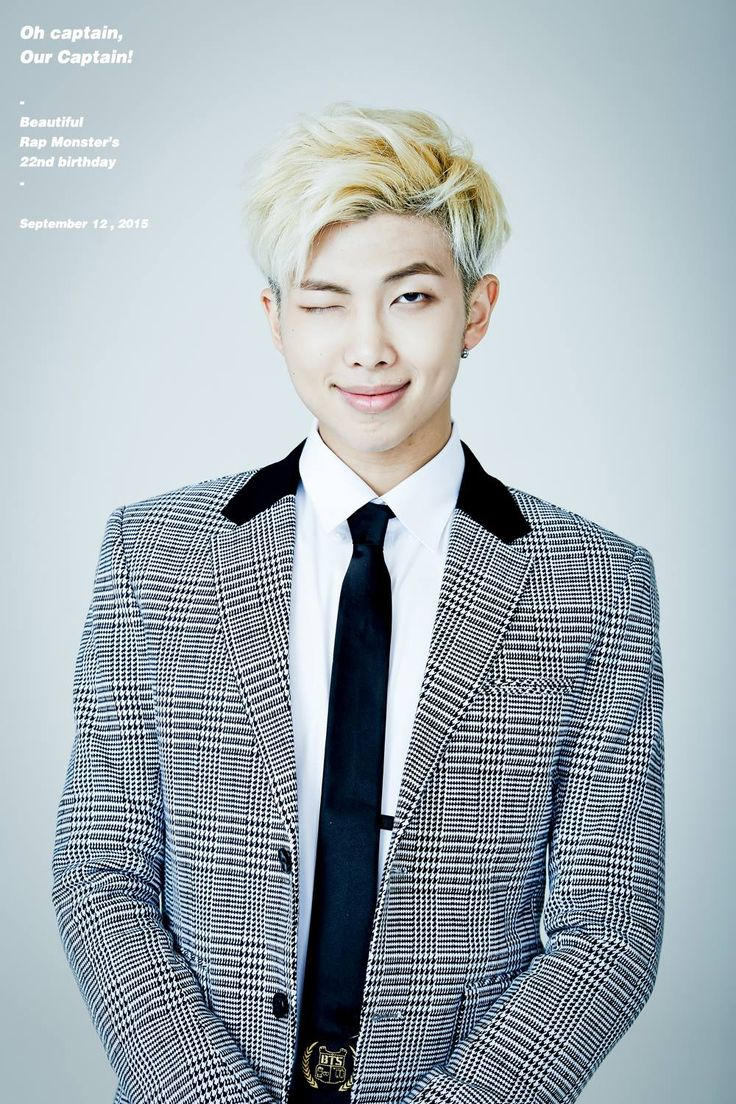 #HAPPY랩몬DAY: ARMYs celebrate BTS Rap Monster's 22nd birthday