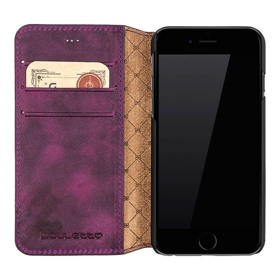 iPhone 6 Wallet Case iPhone 6S Leather Case by IstanbulLeatherShop
