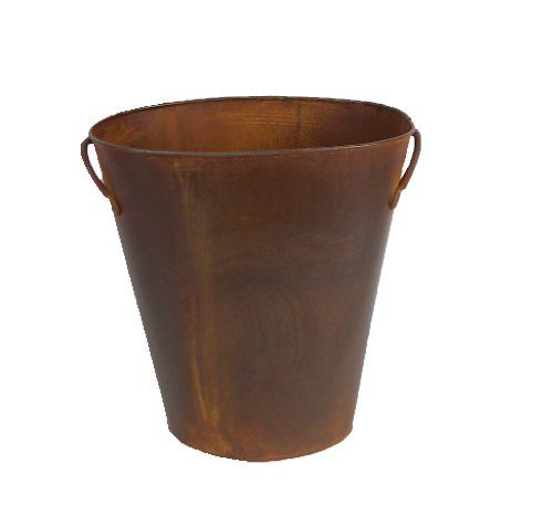 Buy Craft Outlet Rustic Waste Basket with Handles, 12-Inch - Topvintagestyle.com ✓ FREE DELIVERY possible on eligible purchases