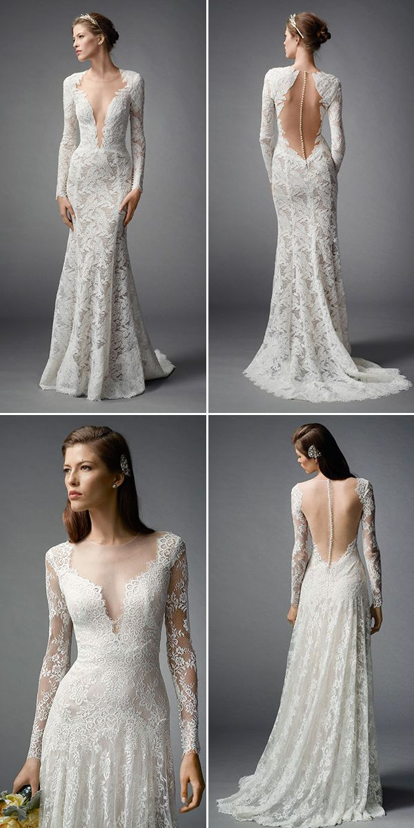 30 Long Sleeve Wedding Dresses : Of the most beautiful long sleeve wedding dresses