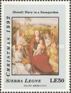 1992 Рождество - религиозные картины