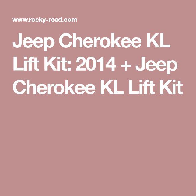 Jeep Cherokee KL Lift Kit:2014 + Jeep Cherokee KL Lift Kit