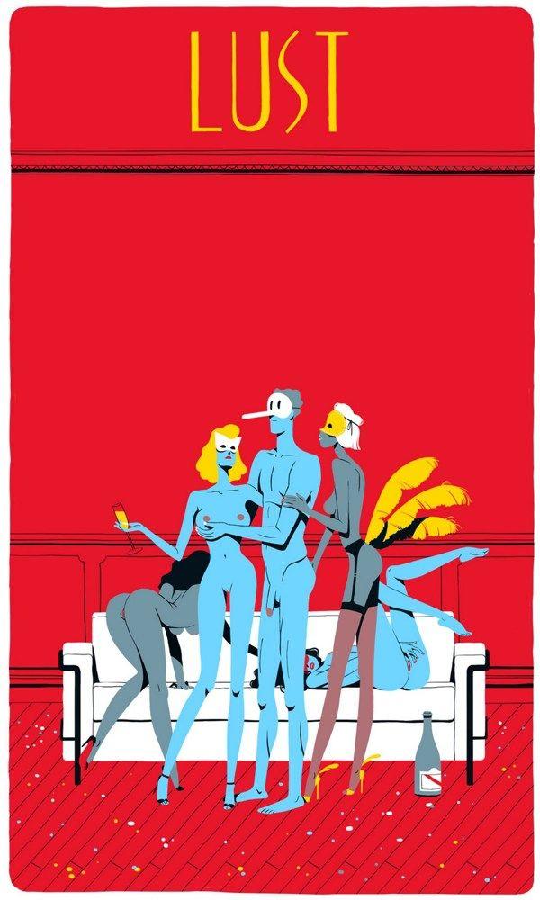 Seven Deadly Sins by Vincent Mahe