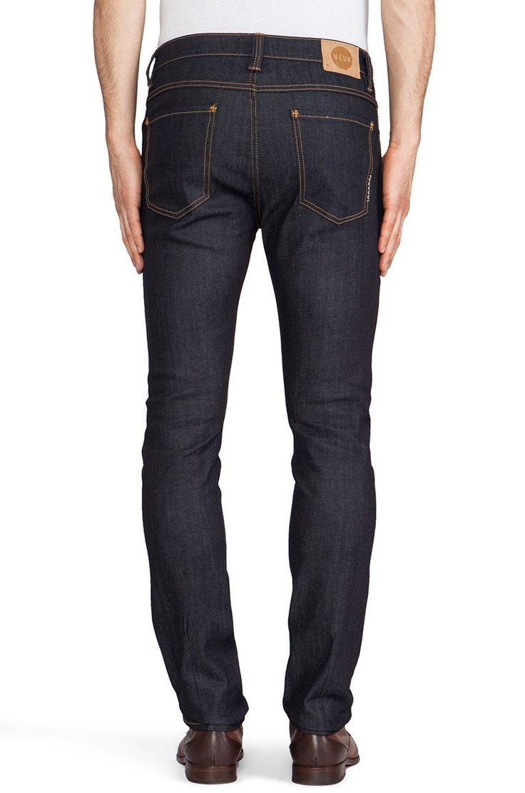 NEUW - Iggy Skinny Raw Stretch Jeans