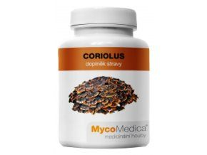 MycoMedica Coriolus -  Coriolus versicolor - outkovka pestrá 90 cps