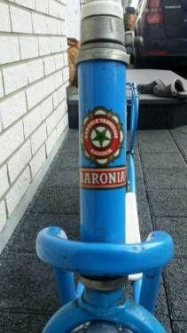 Hallo, verkaufe einen Tretroller von der Firma Baronia Fahrzeuge Rahden.  Dieser Typ wurde zwischen...,Baronia Tretroller Bj. 1949-1953 in Nordrhein-Westfalen - Enger