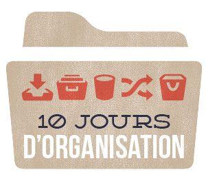 CLIQUEZ pour connaitre les étapes d'organisation de votre espace bureau  https://www.roseflash.ca/category/espace-organisation/10-jours-dorganisation/