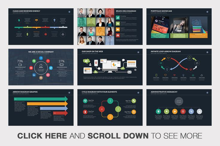 Innovation Powerpoint Template by Slidedizer on @creativemarket
