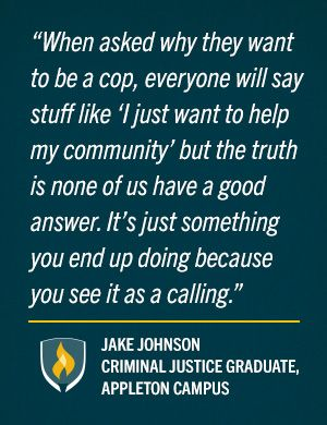 Behind the Badge: Student Stories of Passion for Police Work #NationalPoliceWeek #Police #LawEnforcement