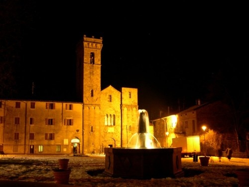 Abbadia San Salvatore, Monte Amiata ( Southern Tuscany): the Abbey