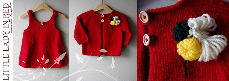 Little Lady in Red (80 LEI la maawcraft.breslo.ro)