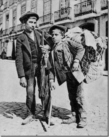 Vendedores de rendas e bordados