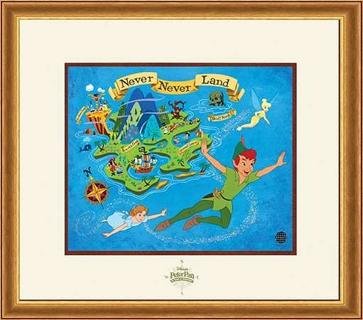 Peter Pan - Peter Pan's Golden Anniversary - Walt Disney Art Classics - World-Wide-Art.com - #Disney #PeterPan
