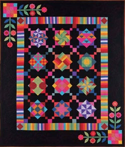 A quilt I'm thinking about purchasing the kit to make.  Love this one...reminds me of my mom!!