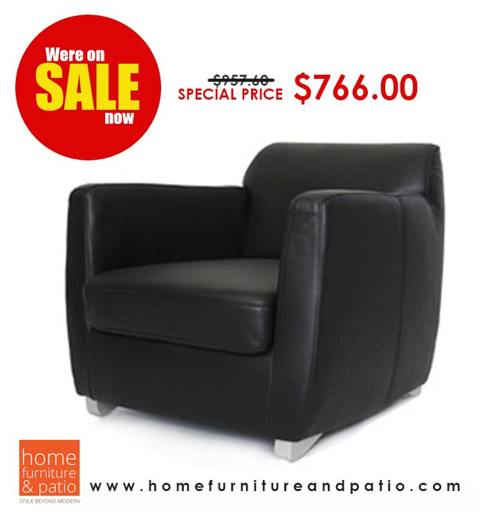 Whiteline Modern Living Laurel Armchair - Close Out Sale - 20% Off! #armchair #chair