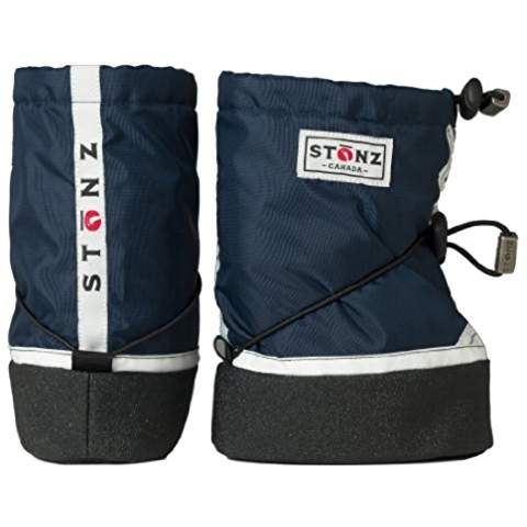 Stonz Sneaker - Navy BSNE140-S, Jungen Schneestiefel, Blau (Navy)
