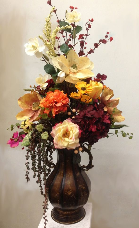 Fall Flower Decor