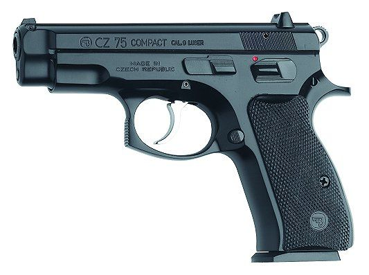 CZ 75 compact. Overall one of the best sidearms in terms of accuracy, handling, and reliability. (it's basically a czech-made exact copy of the Browning Hi-Power)