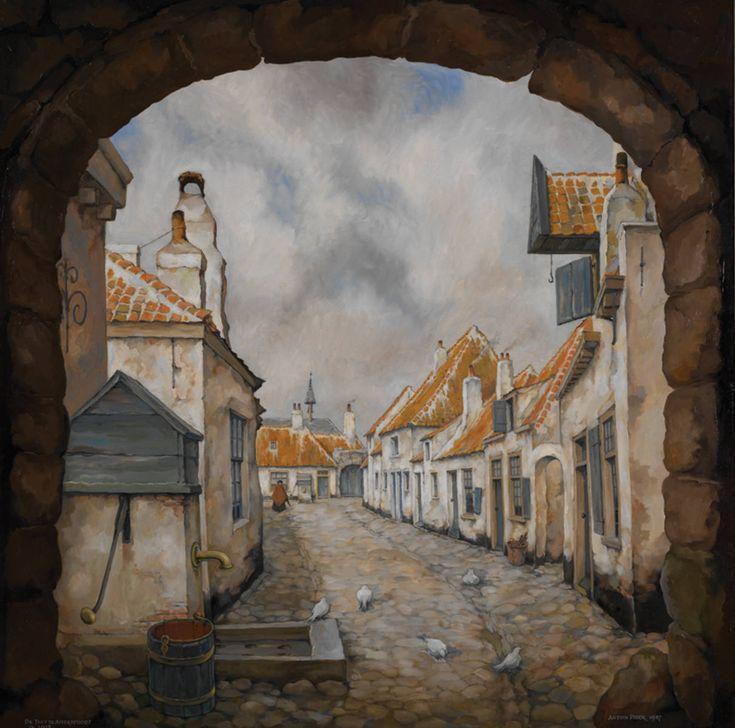 amersfoort-olieverfschilderij-van-anton-pieck.jpg (1212×1200)