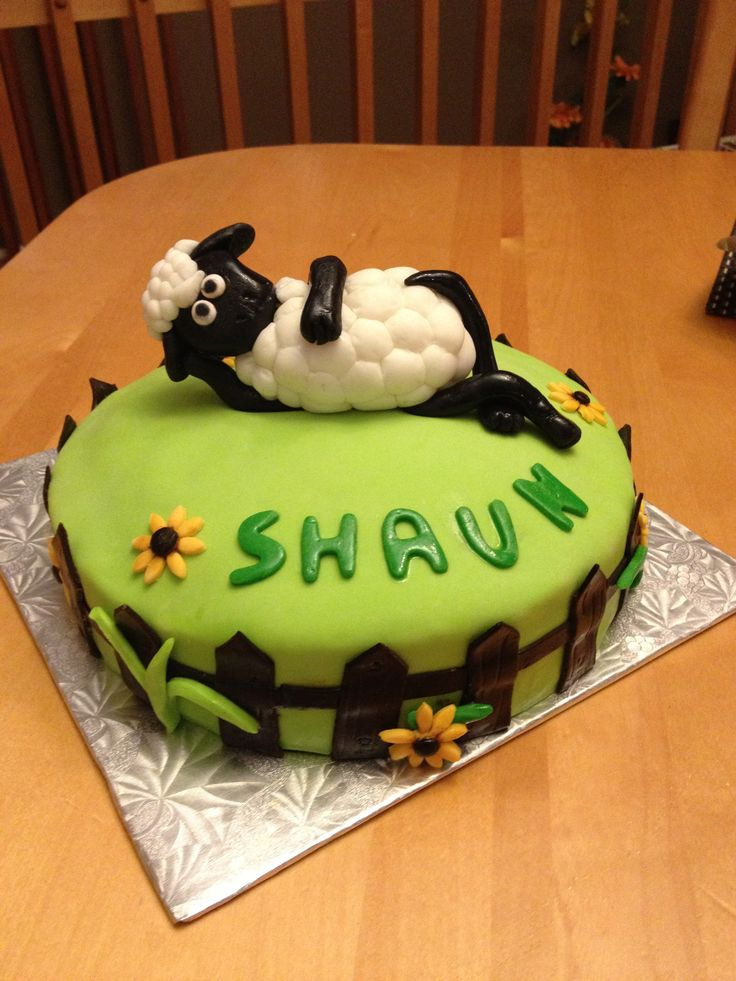 Shaun the sheep cake Gateaux Pinterest The o jays ...