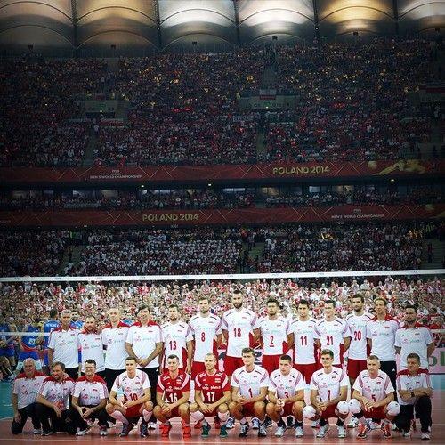 #Poland #2014 #volleyball #team