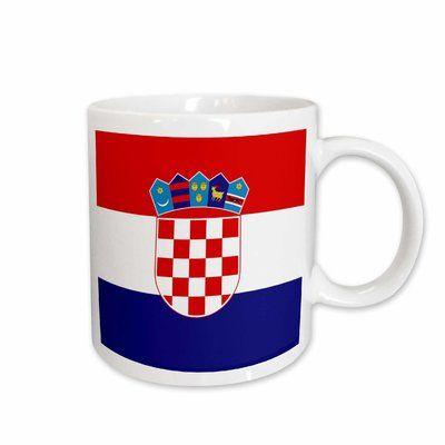 I have this espresso cup | Croatian flag, Croatia, Croatian