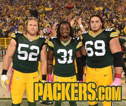 2014 Week 5: Minnesota Vikings Clay Matthews, Davon House, David Bakhtiari Aaron Rodgers, Matt Flynn Aaron airin' it out; Flynn go deep!