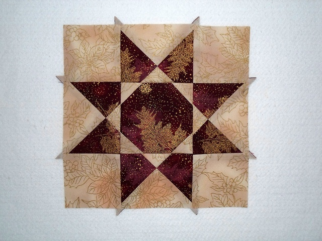 Peaceful Winter 1 by Linda Rotz Miller Quilts & Quilt Tops, via Flickr
