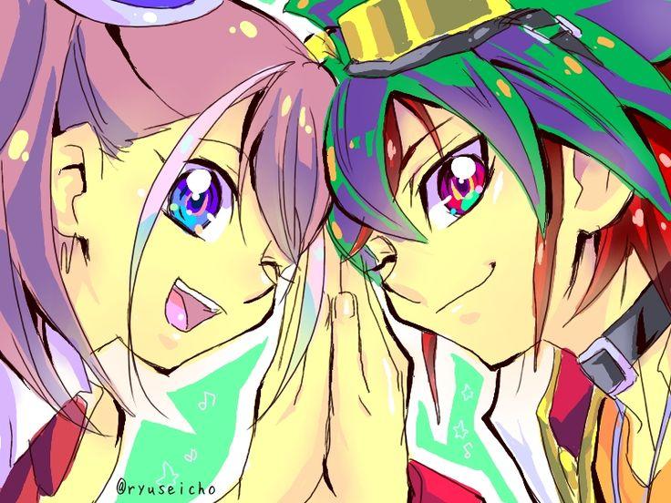 Yugioh - Yuya and Yuzu | Yugioh Arc v Yuya X Yuzu/ Zuzu ...  Yugioh - Yuya a...