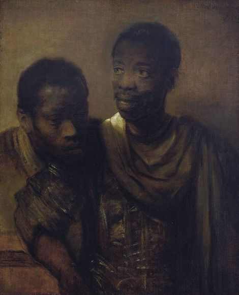 Rembrandt van Rijn, Two Moors on ArtStack #rembrandt #art