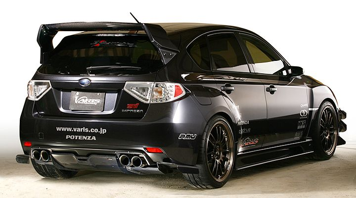 Subaru Impreza STi Great Tail