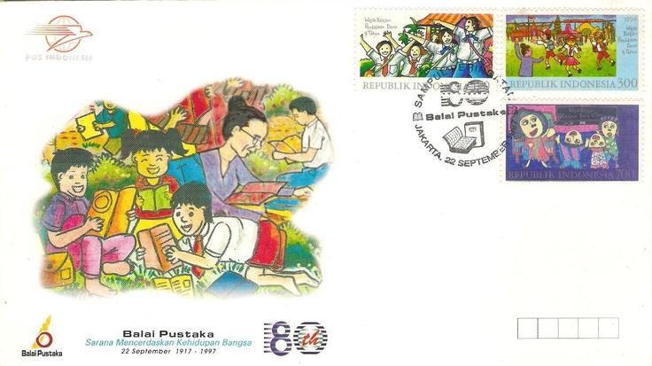 Stamp Balai Pustaka
