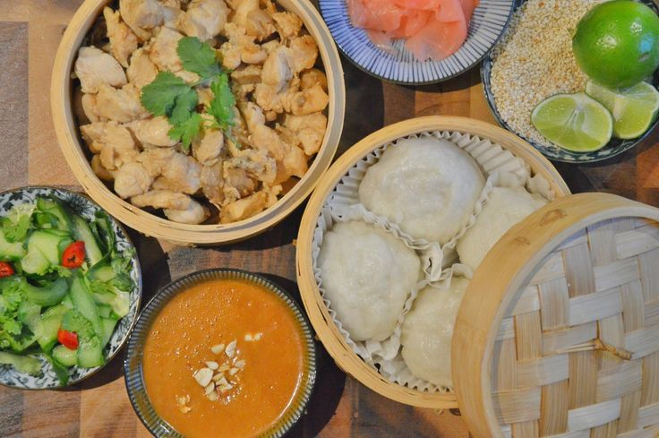 Low Fodmap Recipe Modification: Jamie Oliver's Chicken Dim Sum (from his 15 minute meals book)