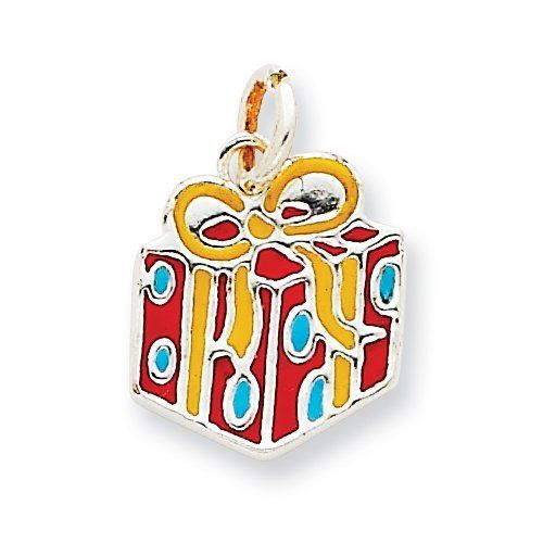 Sterling Silver Enameled Gift Charm Real Goldia Designer Perfect Jewelry Gift goldia. $14.66