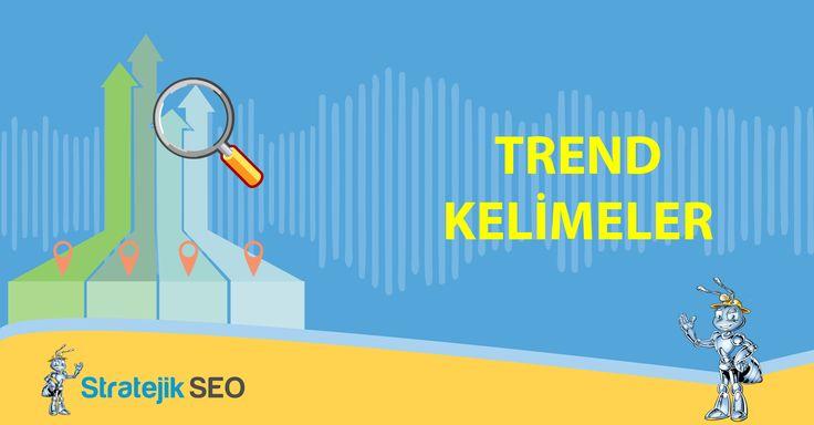 Seo Araçlarımızda yer alan 'Trend Kelimeler' bölümünü kullanarak, anahtar kelimenizin kullanıcılar tarafından aylık ve yıllık zaman dilimleri içerisinde ne kadar sıklıkla sorgulandığını ve anahtar kelimeye gösterilen ilgiyi Stratejik Seo farkıyla görüntüleyebilirsiniz.
