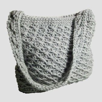 This free crochet pattern is for a cross-over long dc purse. You can line it and use it as a purse or for anything else that you need a bag for.
