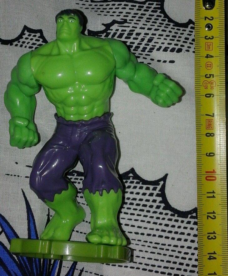 The incredibile Hulk . Plastic . L incredibile Hulk .