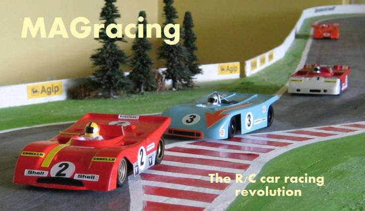 Four cars on the racing line.   See www.magracing.co.uk