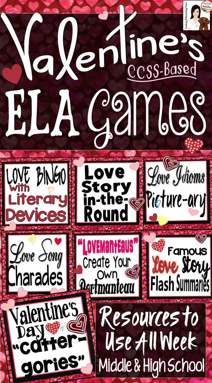 4310 best Valentine's Day Language Arts Ideas images on Pinterest ...