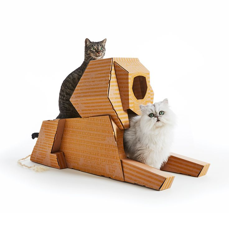 What If You Offer A Famous Monument To Your Cat? Knowing Very Well That Cats  Prefer Cardboard Boxes, Imagined The Landmark Playhouses, Some Cat Houses  In ...