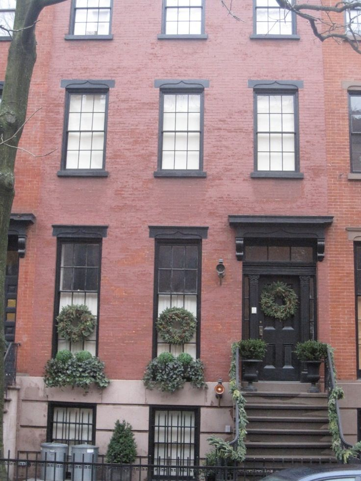 17 best images about red brick on pinterest window Black brick homes