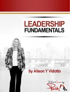Your business will NEVER outperform your level of leadership! A one day leadership seminar for small business owners, managers and team members.   http://alisonvidotto.com/push-courses/training-3