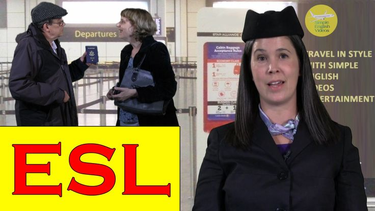 Learn how to check in at an airport in this #ESL collaboration video made with Rachel of Rachel's English. Click here to see Rachel exploring the pronunciati...