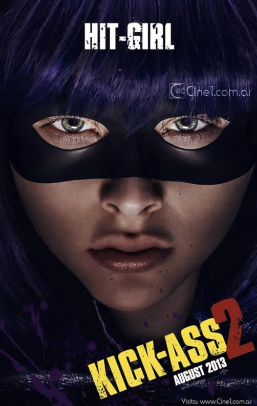 Kick Ass 2 character posters