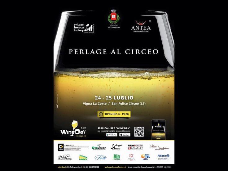 ecco il prossimo spumeggiante evento! #perlagealcirceo