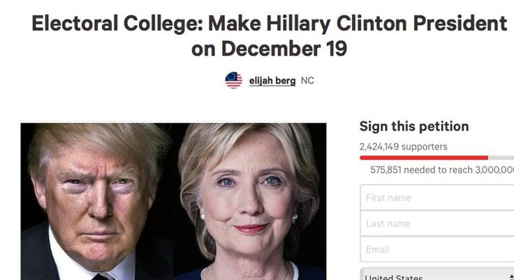 Liberals Are Now Signing Petition To Make Hillary President