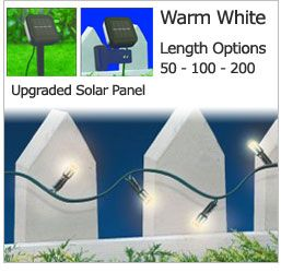 Outdoor Solar Christmas Lights from OutdoorSolarStore.com :: Review and Giveaway
